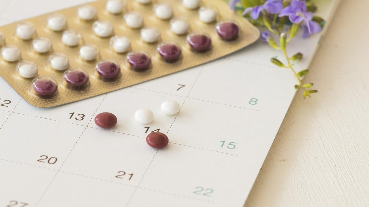 Píldoras anticonceptivas.