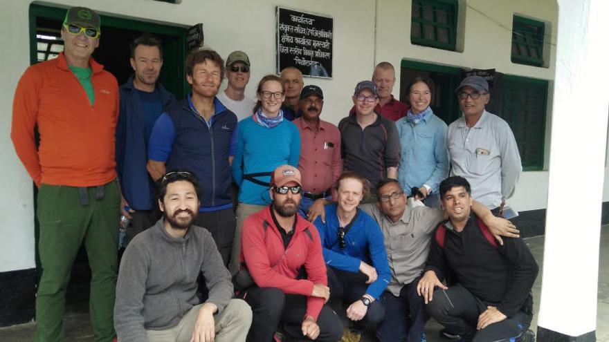 Avistan los cuerpos de cinco montañeros desaparecidos en el Himalaya