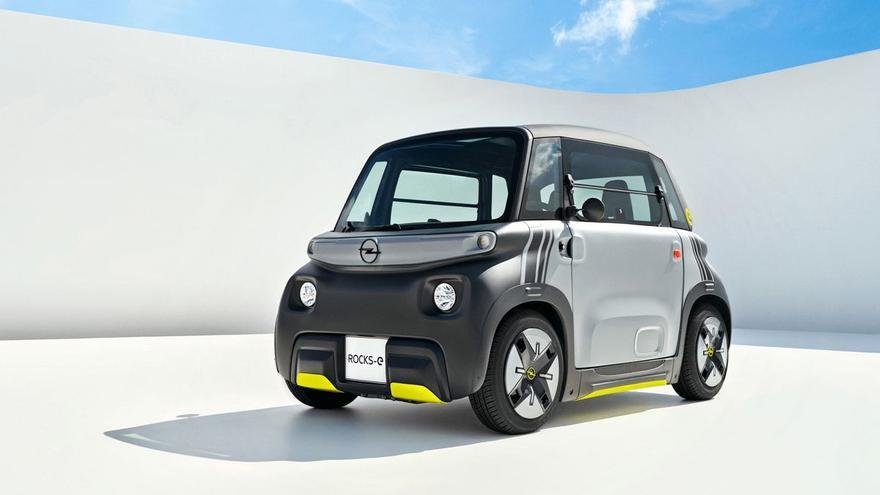 Opel presenta el Rocks-e, el segundo cuadriciclo eléctrico de Stellantis