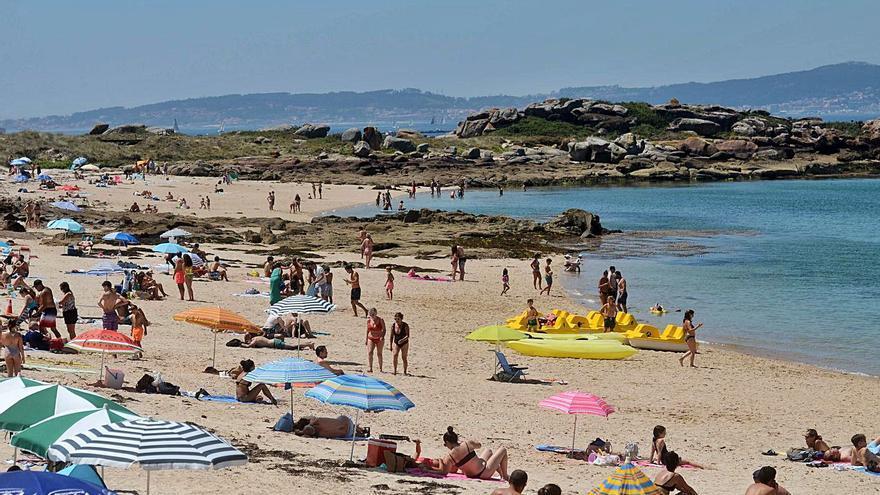 El interior del municipio de Meis concentra de nuevo las zonas más cálidas de O Salnés