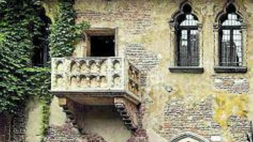 El falso balcón de Julieta