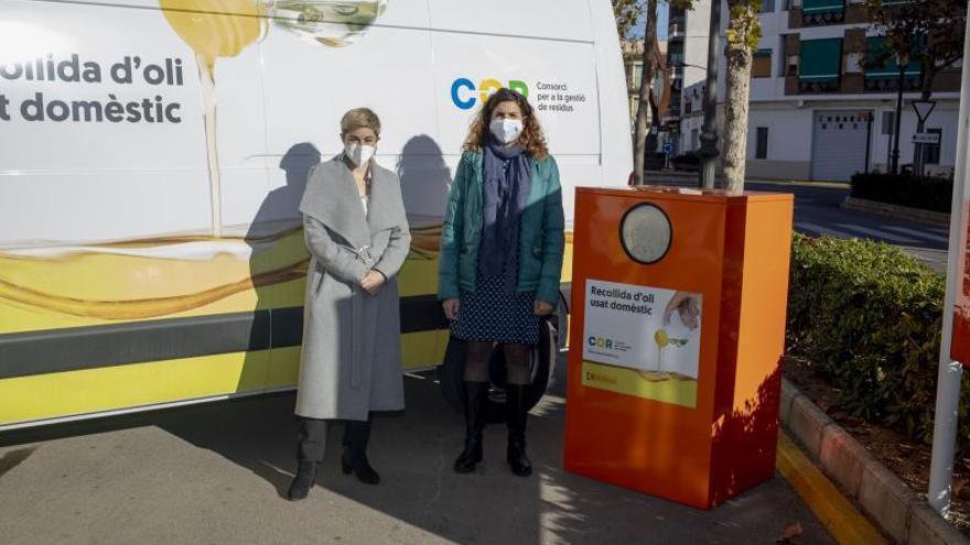 Una veintena de municipios convenian con el COR la recogida de aceite usado
