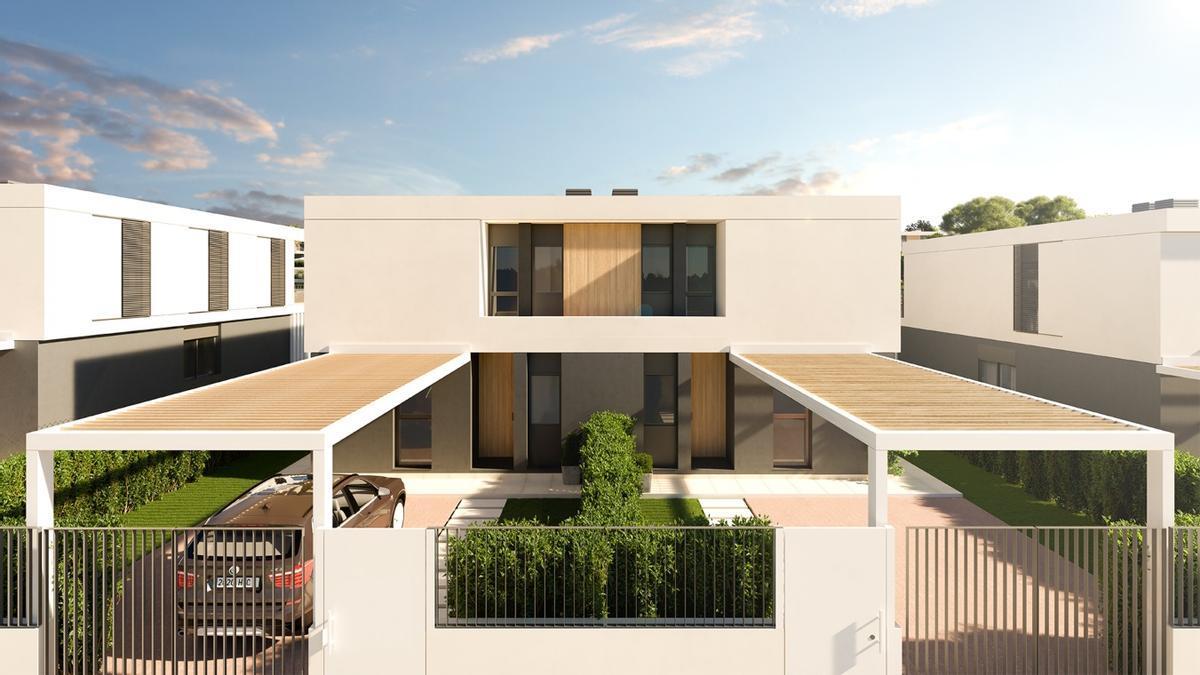 Habitat Torre en Conill es el nuevo proyecto de viviendas unifamiliares cerca de València.