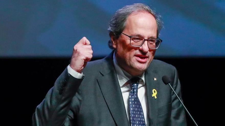 El presidente de la Generalitat catalana, Quim Torra.
