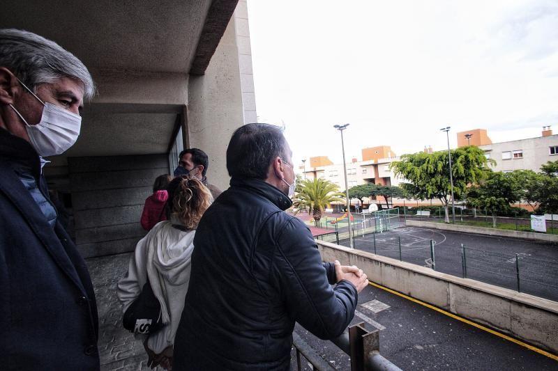 Visita a las viviendas de San Pío