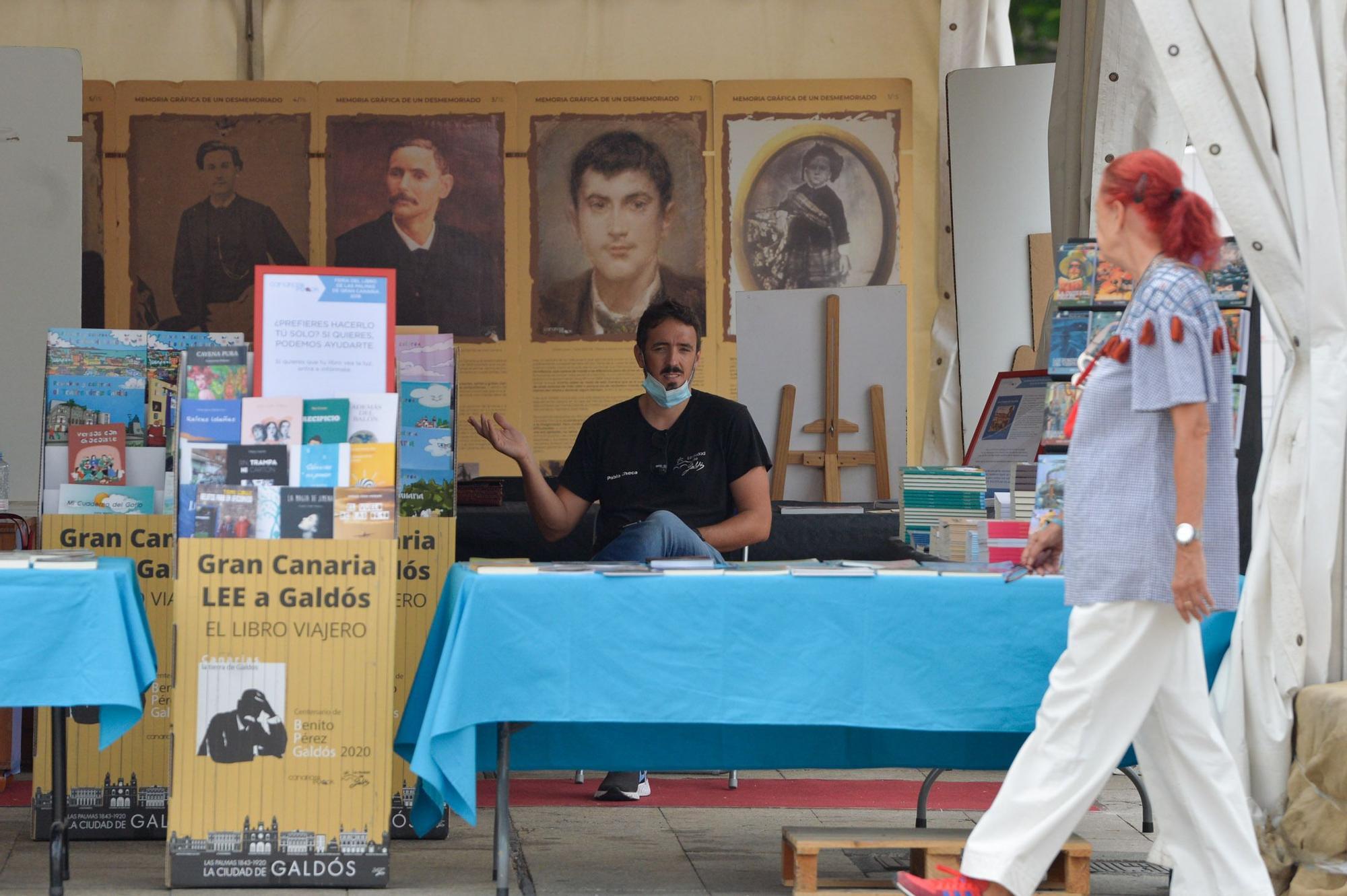 Inauguración de la Feria del Libro de Las Palmas de Gran Canaria