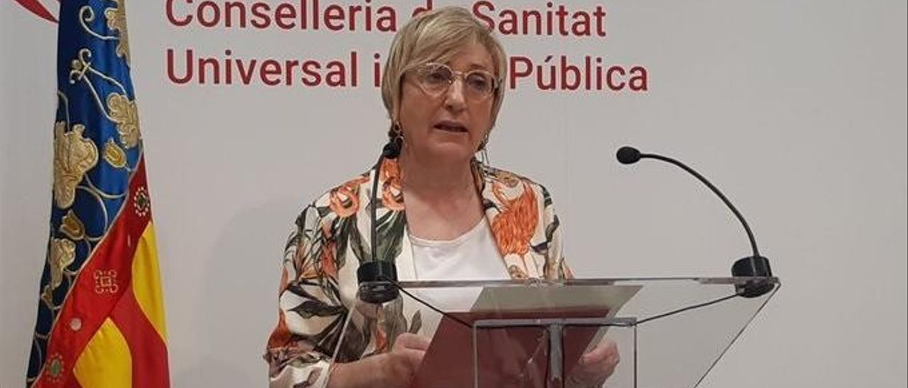 Ana Barceló consellera de Sanidad