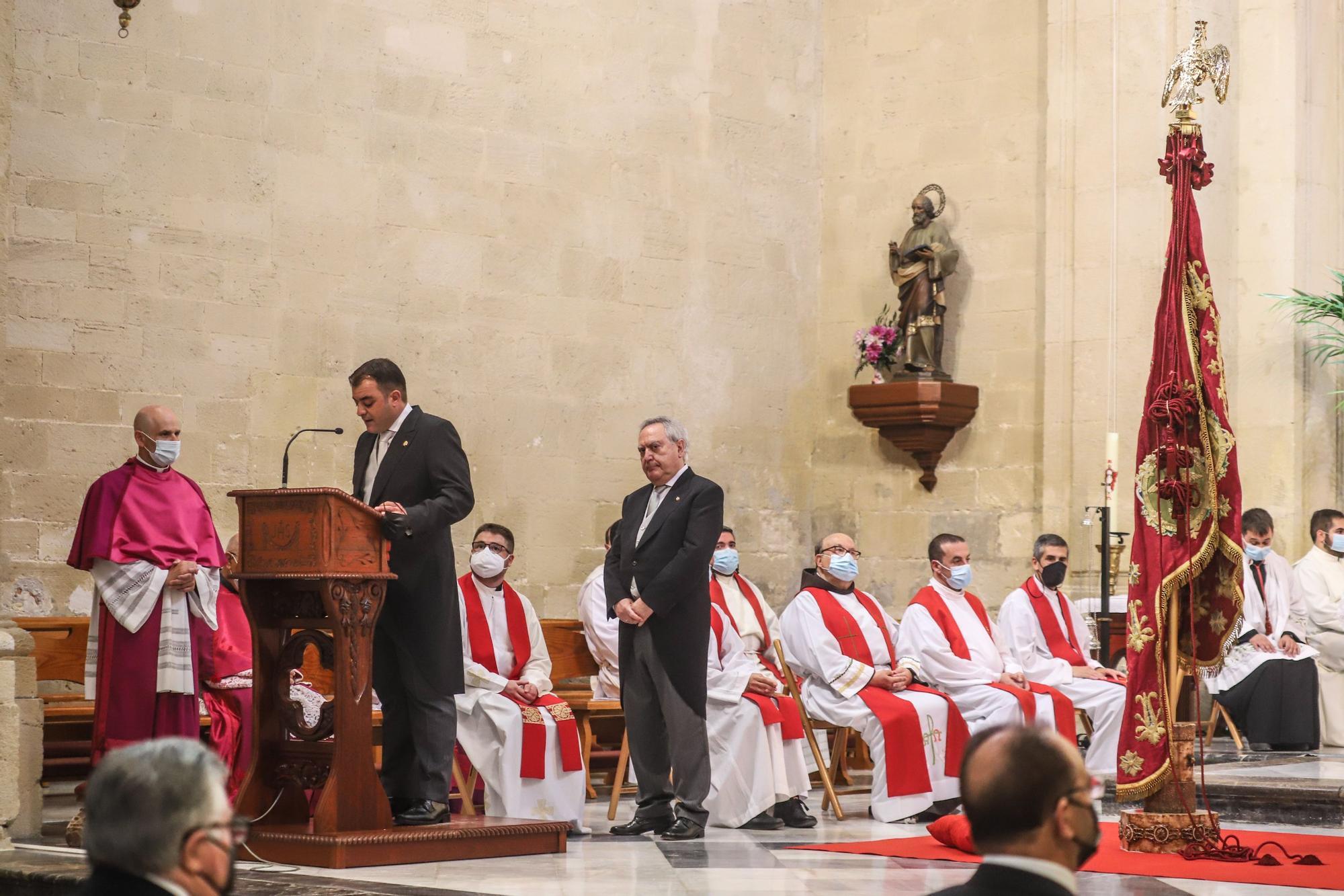 779 Aniversario de La Reconquista de Orihuela con la celebración institucional e histórica sin público por el covid