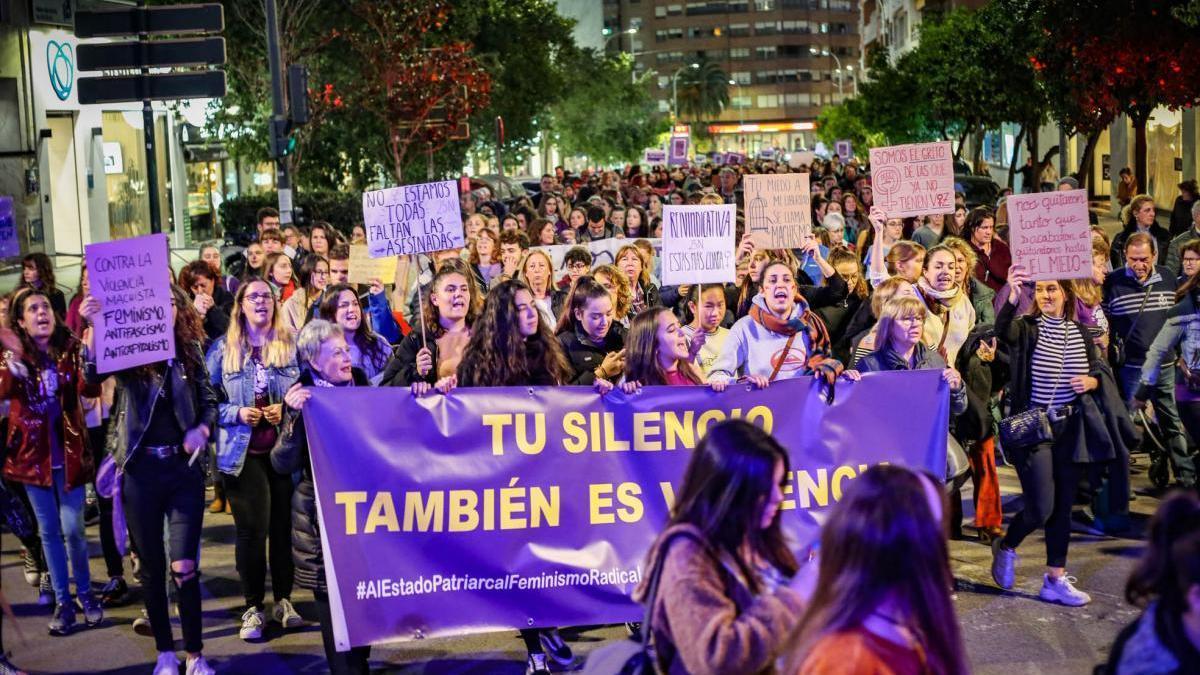"""""""Cero asesinadas a partir de ahora"""", el lema del 25N que no pudo ser"""