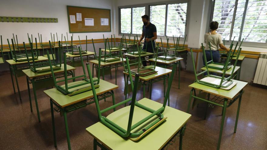 Crece cerca de un 7% el número de alumnos del banco de libros de Aragón