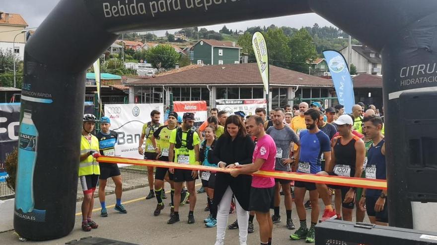 El IV Trail Isla de la Deva con éxito de participación: 72 corredores y cero incidentes