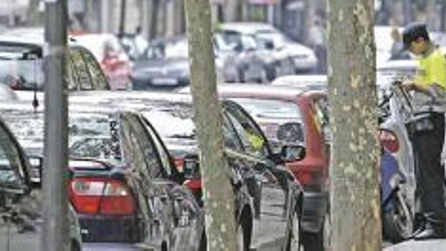Achtung: Parkverbot für Auswärtige in der Innenstadt von Palma de Mallorca an diesem Mittwoch (22.9.)
