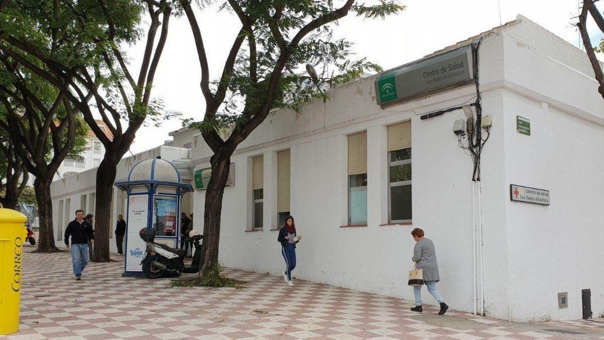 Centro de Salud de San Pedro Alcántara.
