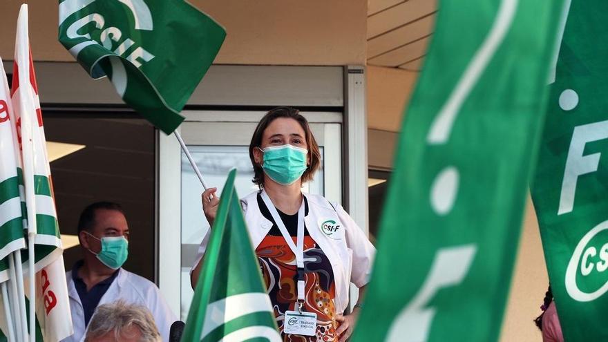 Los sanitarios se concentran mañana para exigir la renovación del 100% de los contratos del SAS