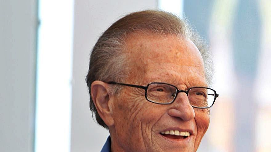 Fallece Larry King, icono de la televisión de EE UU