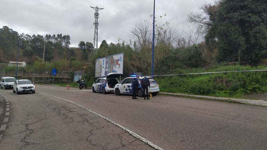 Muere un motorista en la Estrada Vella de Madrid, en Vigo