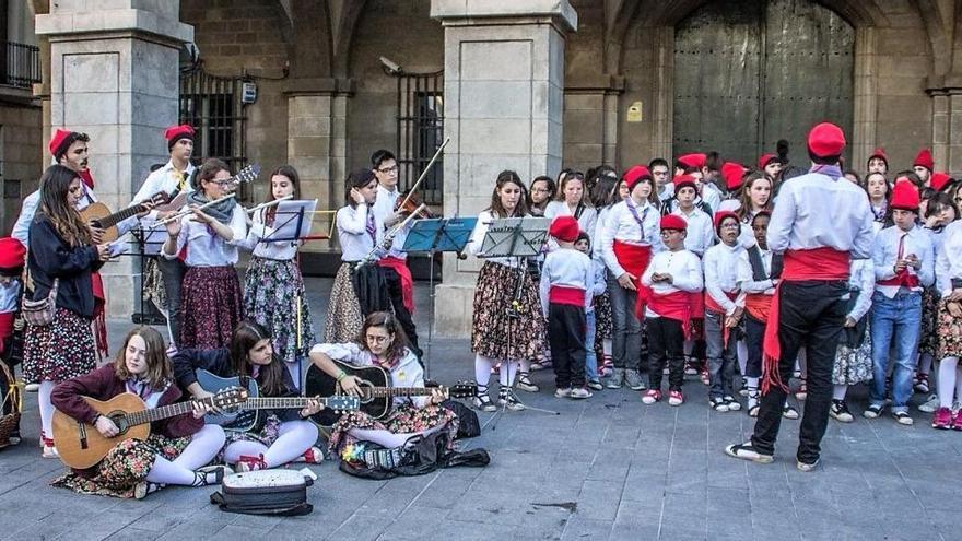Les caramelles del Mijac Sagrada Família sortiran a cantar i ballar a Manresa