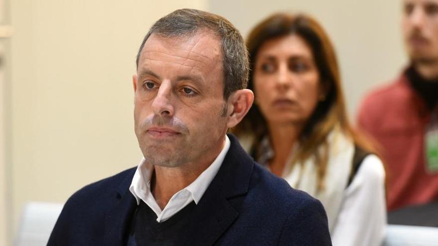 Arrenca el judici a Sandro Rosell a l'Audiència Nacional