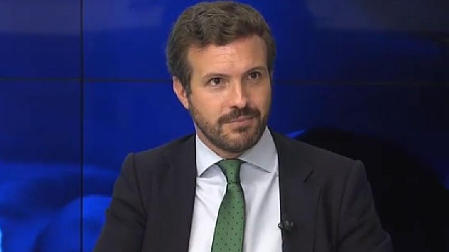 """Casado acusa a Sánchez de usar los fondos europeos """"para su agenda electoral"""""""