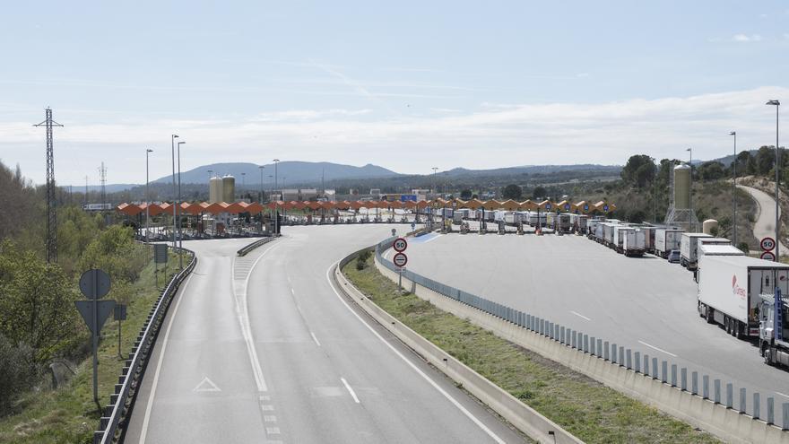 La retirada de peatges al tram de l'AP-7 de la Jonquera a Vidreres costa 21,8 MEUR