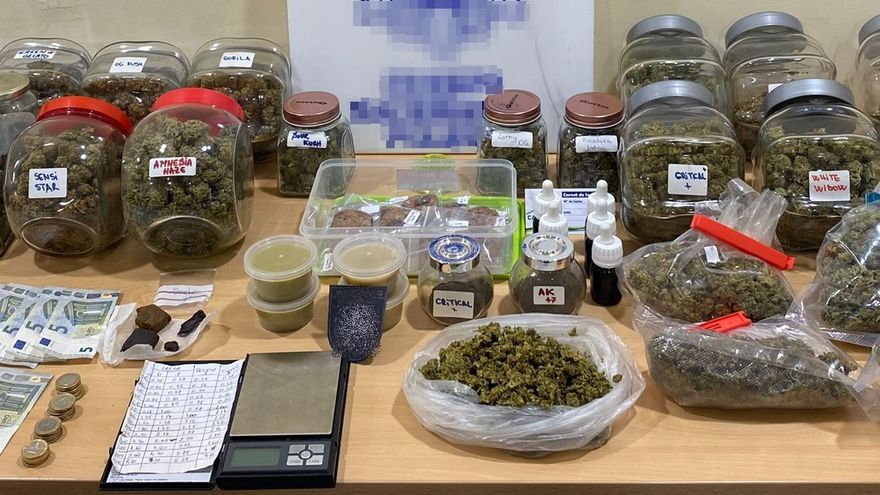 Detenida en Gran Canaria por vender marihuana en una asociación cannábica
