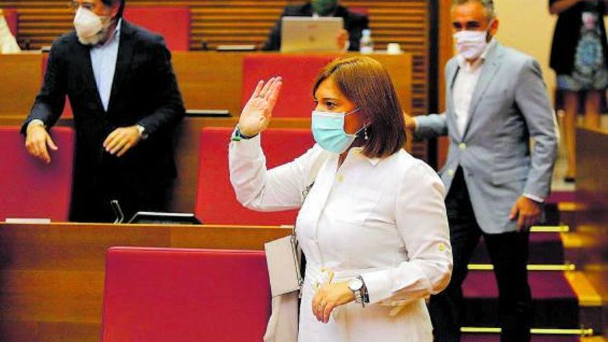 El PP retira en las Cortes la última propuesta de ley que presentó Bonig