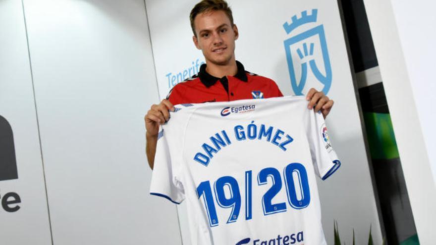 Dani Gómez: vengo para hacer goles
