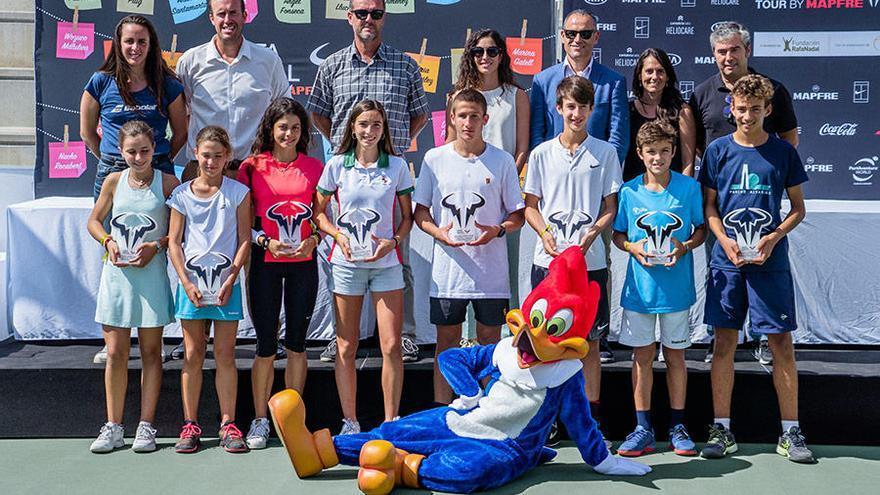El circuito juvenil impulsado por Nadal incluirá seis torneos por España