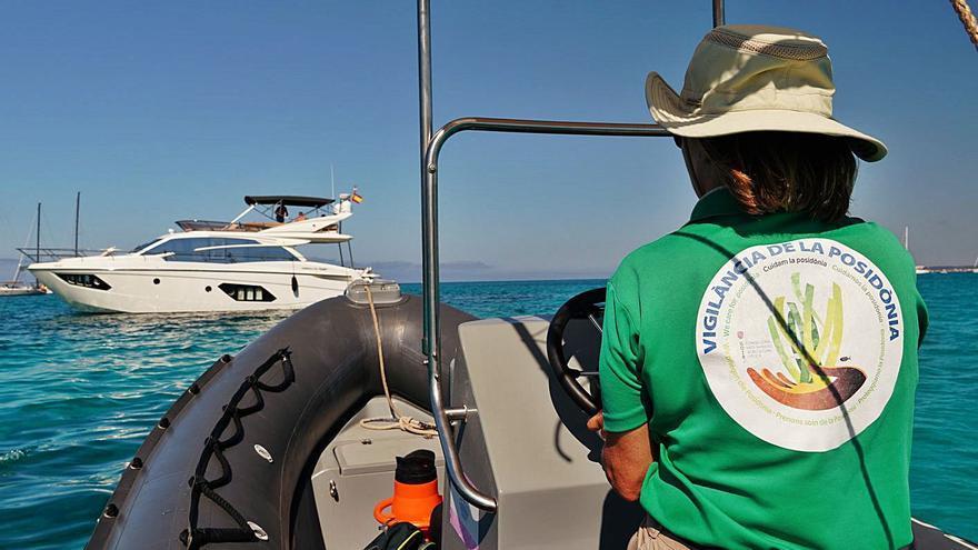 70.000 barcos fondearon en el Parque Natural en Formentera