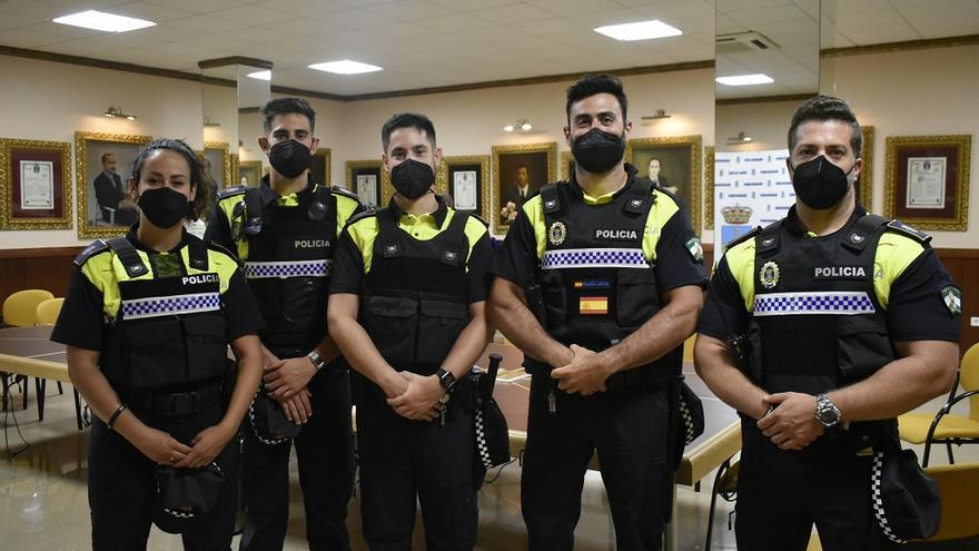 La Policía Local de Alhaurín de la Torre se refuerza con la incorporación de cinco agentes