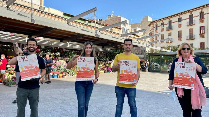 Primera edición de la Ruta del Foc en Alicante hasta el 23 de junio