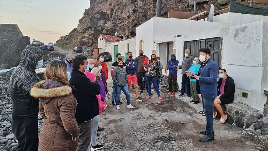 Los vecinos de Las Bajas tendrán que dejar sus viviendas durante esta semana