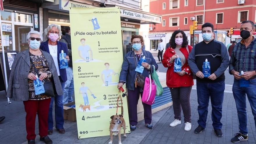 Campaña para combatir los malos olores que provocan los orines de los perros