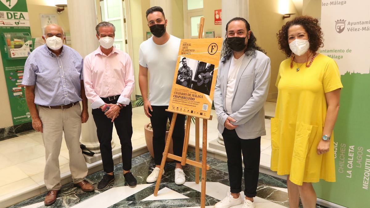Presentación conciertos de VII Bienal en Vélez-Málaga