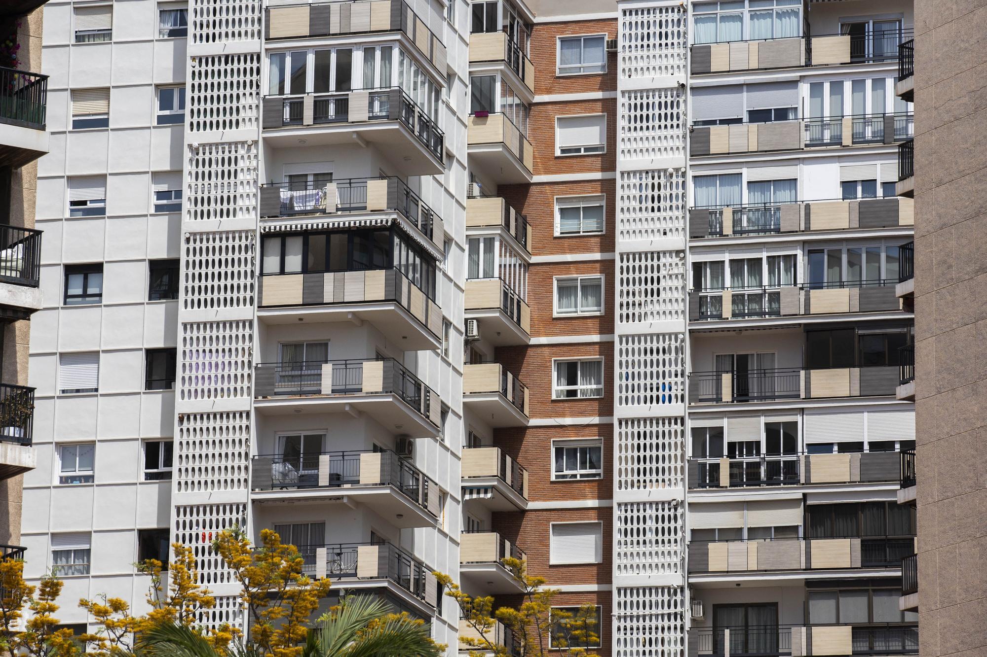 Las fachadas más singulares de València