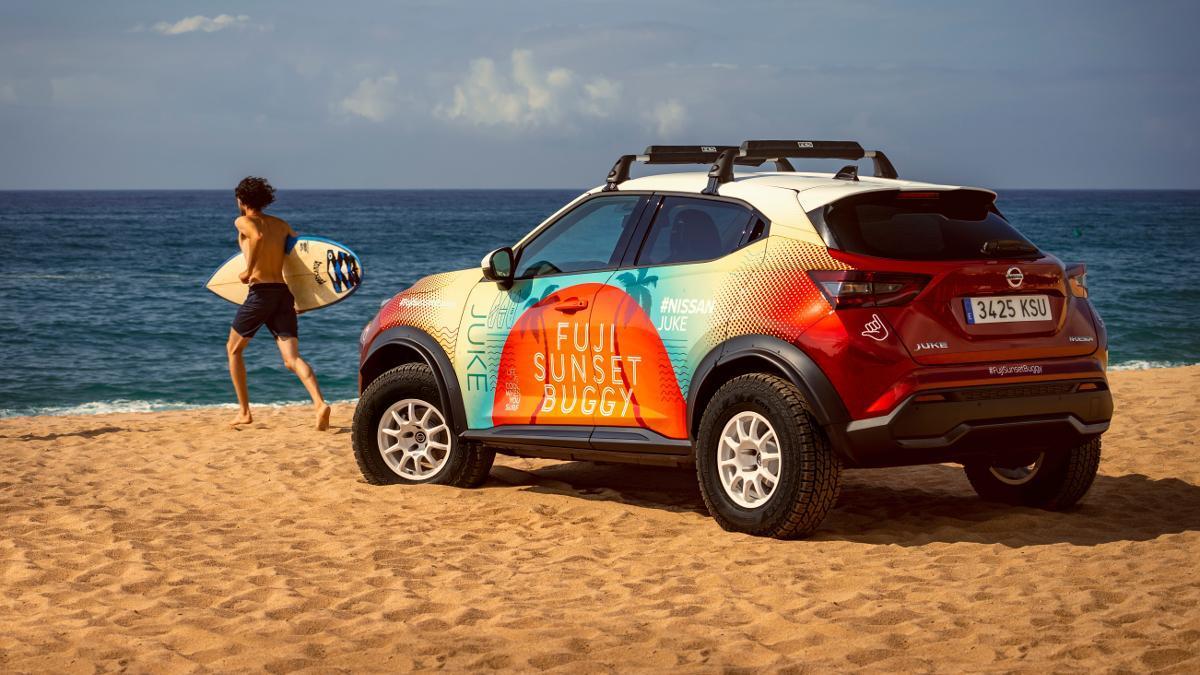Nissan Juke Fuji Sunset Buggy, un prototipo para disfrutar al máximo del verano
