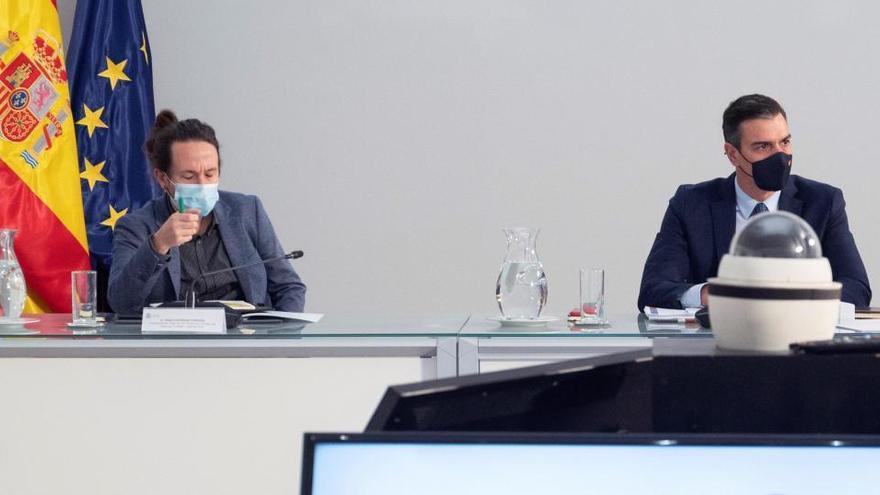 Malestar en Podemos al no estar Iglesias en la comisión para los fondos europeos