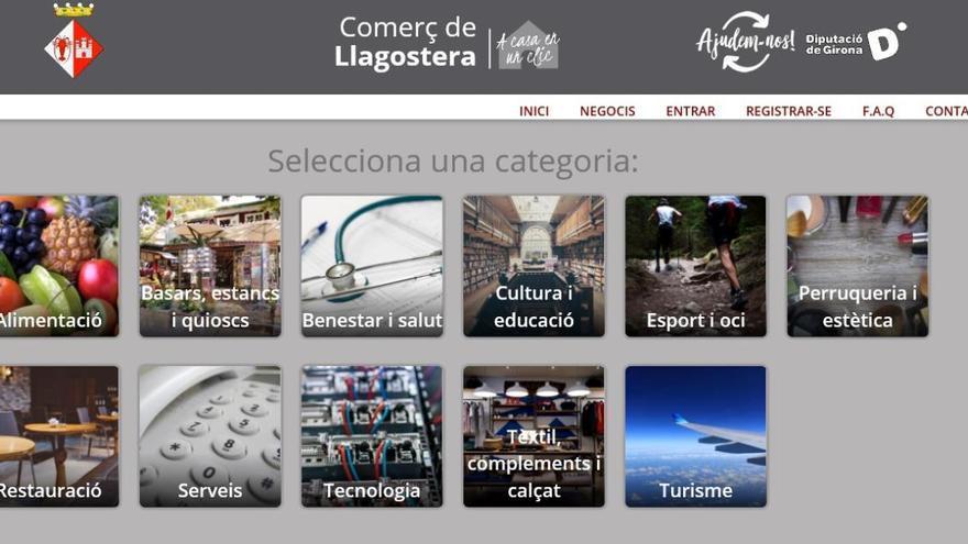 La Diputació activa la plataforma de comerç local en línia