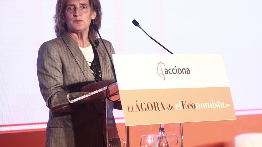 """Ribera: """"La ley climática incorporará la plena descarbonización de la economía"""""""