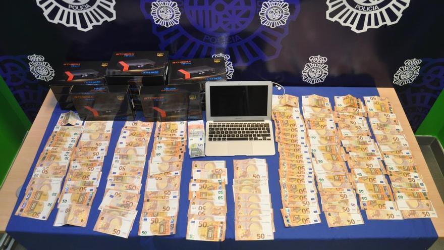 Detenido en Zamora uno de los cabecillas de un entramado criminal con siete lingotes de oro