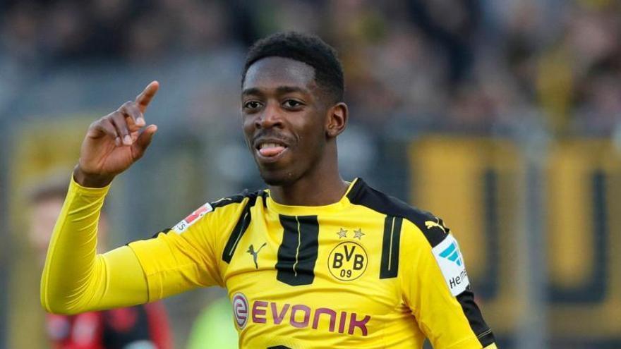 El Barcelona a punt de tancar l'acord amb Dembélé