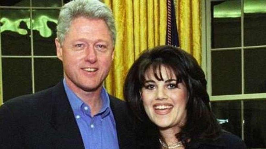 """Clinton, sobre el caso Lewinsky: """"Fue para gestionar mi ansiedad"""""""
