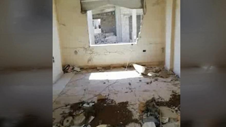 Los bombardeos de Siria destruyeron la casa de una famlia que busca nuevo hogar en Vigo