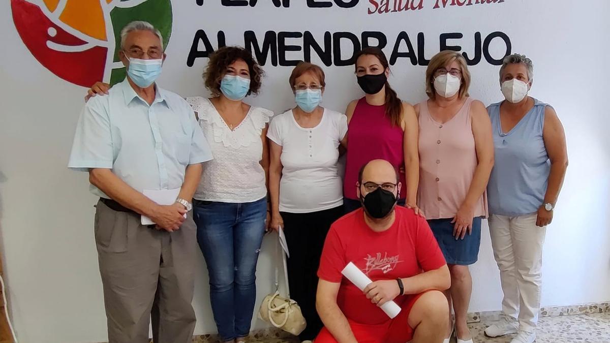 Nueva junta directiva de Feafes Almendralejo