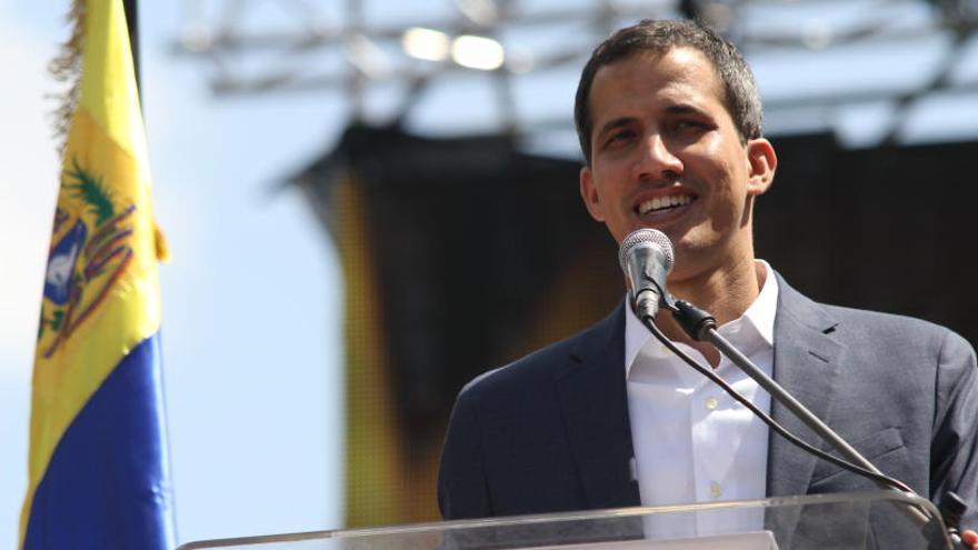 """Guaidó: """"Mi agradecimiento a Sánchez por su claridad"""""""