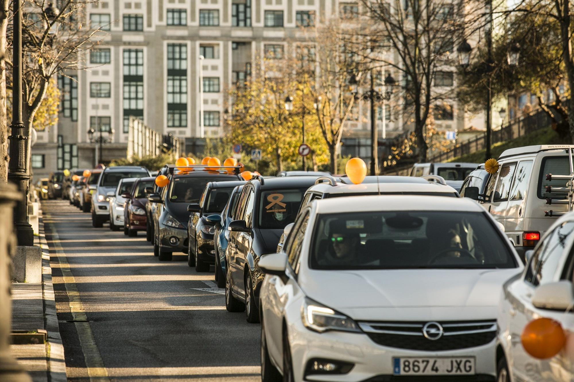 Protestas en Oviedo