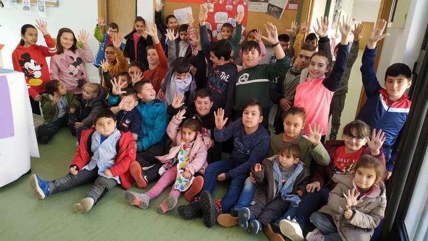 El colegio Benjamín Mateo de La Felguera, a todo ritmo