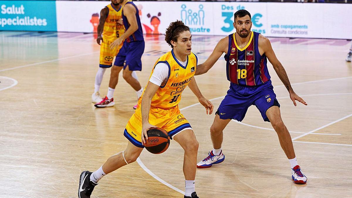 Debut en Liga Endesa de Rúben López de la Torre - La Provincia