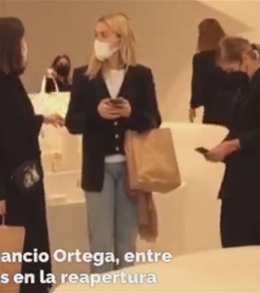 Marta Ortega visita la nueva 'flagship store' de Zara Home en A Coruña
