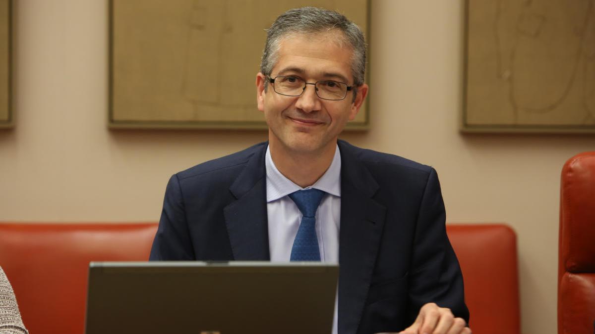 El Governador del Banc d'Espanya, Pablo Hernández de Cos